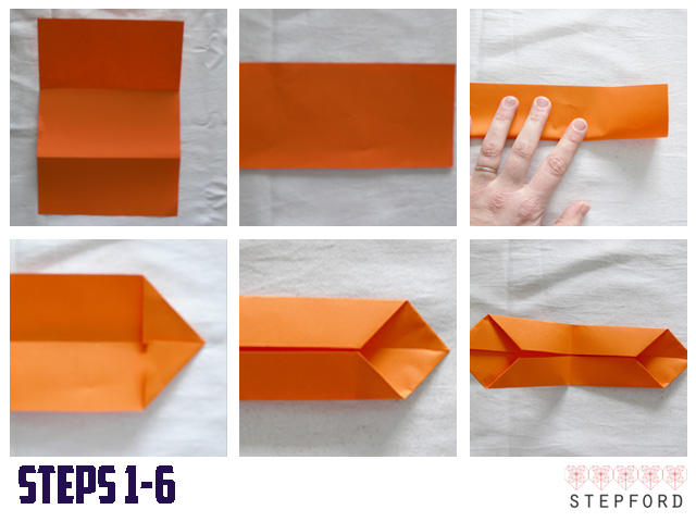 How To Make A Origami Bow Tie Step By