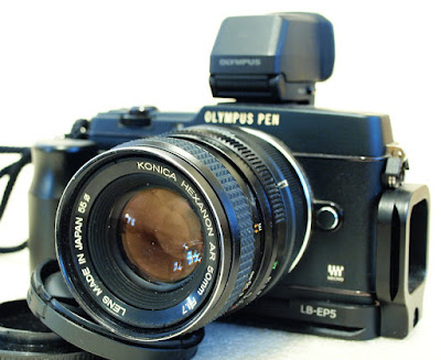 Olympus E-P5, Konica Hexanon AR 50mm F1.7