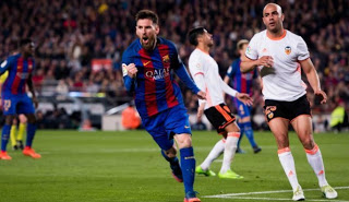 ملخص ونتيجة واهداف مباراة برشلونة وفالنسيا 2-2 اليوم 2/2/2019 الدوري الإسباني Barcelona vs Valencia