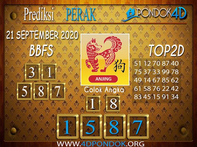 Prediksi Togel PERAK PONDOK4D 21 SEPTEMBER 2020