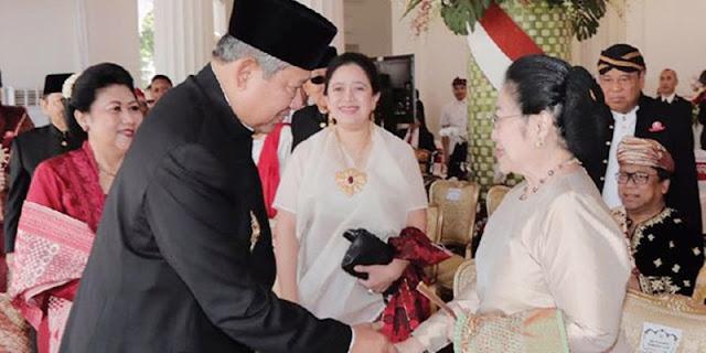 Friksi Mega-SBY Kembali Diungkit, Politik Dendam Dan Sakit Hati Yang Tak Sehat