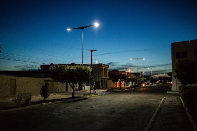 Noite em Ponto Novo - Bahia — Fotógrafo: Romilson Almeida