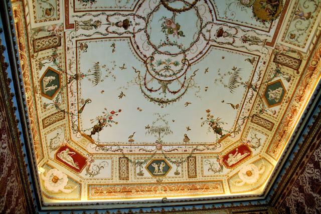 affreschi, volta, disegni