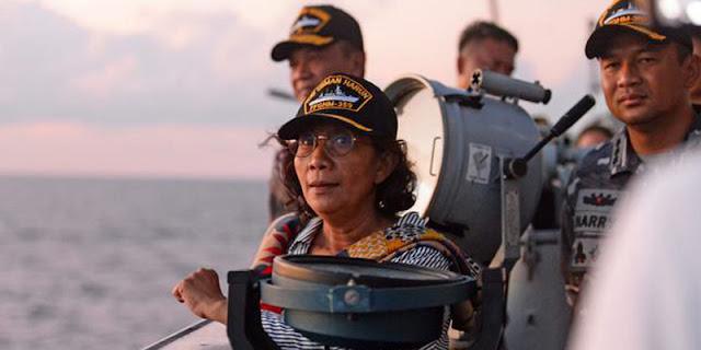 Susi Ke Jokowi: Sebagai Panglima Tertinggi, Bapak Bisa Naikkan Pangkat Awak KRI Nanggala Hingga 4 Level