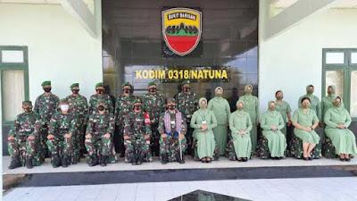 Pangdam I/BB Apresiasi Personel Kodim 0318/Natuna
