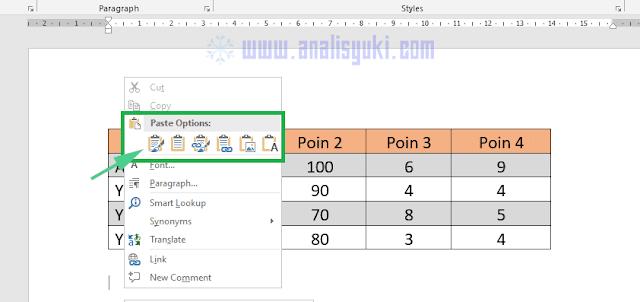 Cara Memindahkan Excel ke Word Tanpa Merusak Tabel
