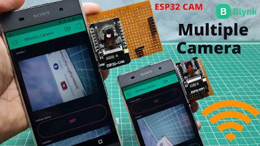 ESP32 CAM Based Multiple Camera Surveillance Using Blynk App