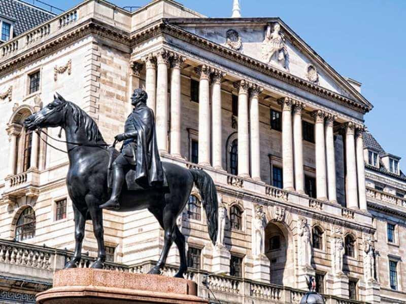 Rompak Bank of england