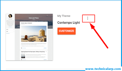 Convert to Classic Template Blogger