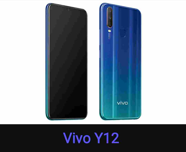 Vivo Y12 Smartphone launches Triple Rear Camera with Rs 12,499 in India