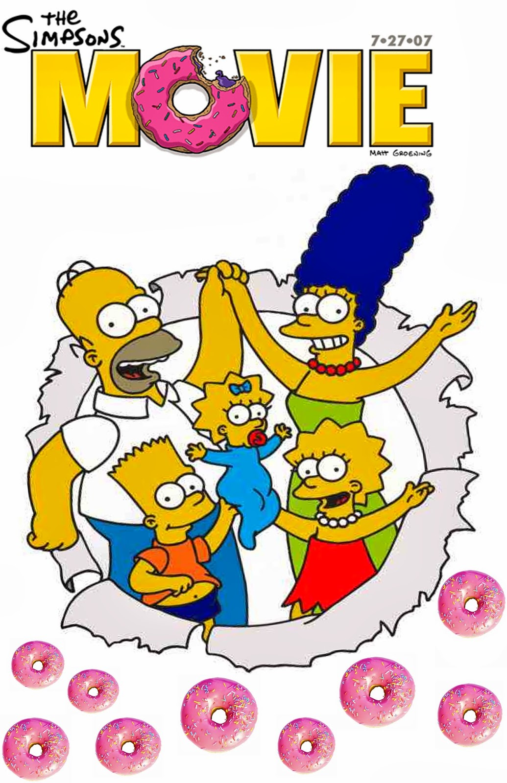 Beth Smith As Media Using Photoshop The Simpsons Movie Poster