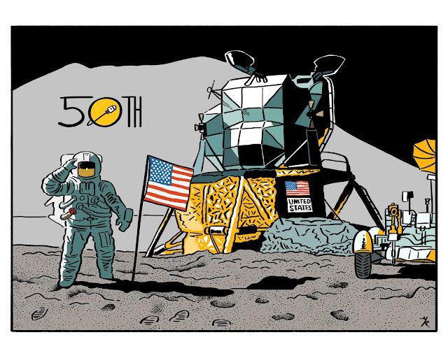 月面着陸50周年