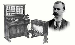 Tabulating Machine by Herman Hollerith