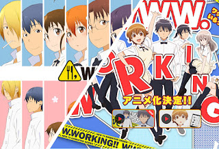 WWW.Working!! Batch (1-13 Episode) Subtitle Indonesia