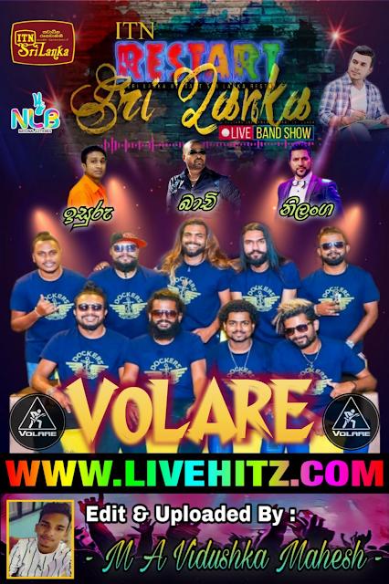 ITN RESTART SRI LANKA LIVE BAND SHOW WITH SEEDUWA VOLARE 2020