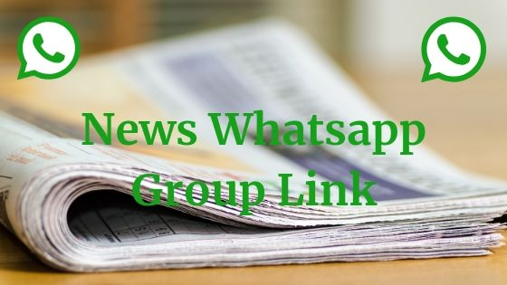 News Whatsapp Group Link List