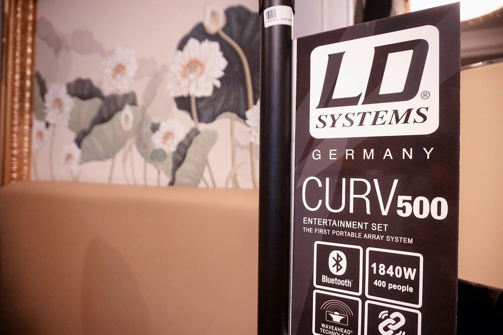 Curv 500 ES and Cameo Superfly XS & Storm creates its debut at the November HiFi Exhibition