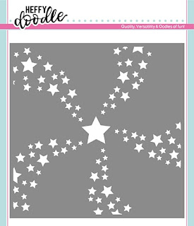 Star Swirl Stencil