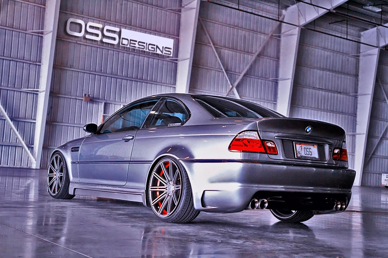 bmw e46 m3 on custom cv4 by oss design