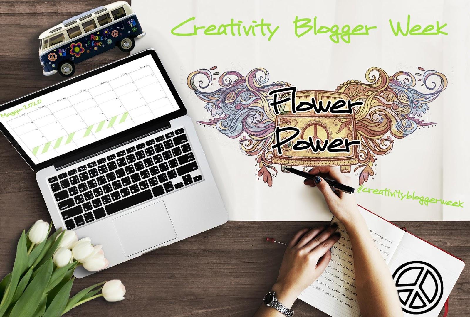 #CreativityBloggerWeek - Flower Power