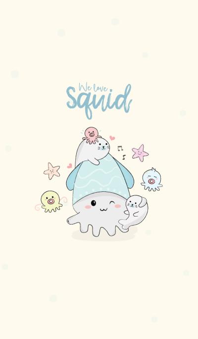 We love Squid