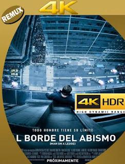 Al borde del abismo (2012) 4K REMUX 2160p UHD [HDR] Latino [GoogleDrive]