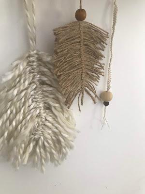 plume en laine