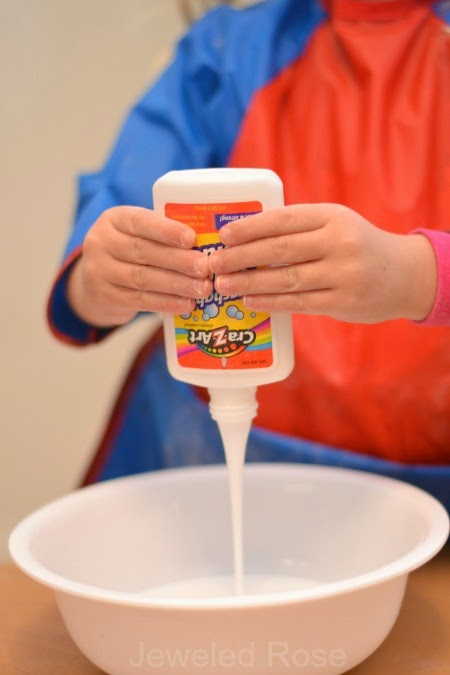 ICY COLD SLIME made using only two ingredients- how cool! A must try!