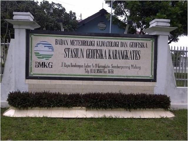 BMKG Karangkates Sudah Menyiapkan Mitigasi Gempa Dan Tsunami