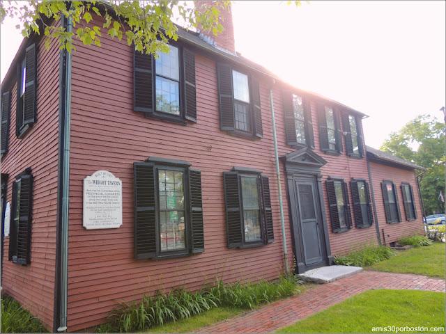 Wright Tavern en Concord, Massachusetts