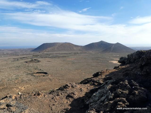 senderismo volcan Fuerteventura
