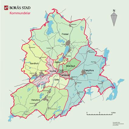 karta borås kommun Karta över Borås kommun Bild | Karta över Sverige, Geografisk  karta borås kommun