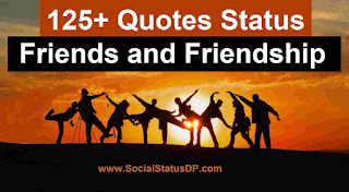 125+ Unique Friends and Friendship Quotes Status Images for WhatsApp