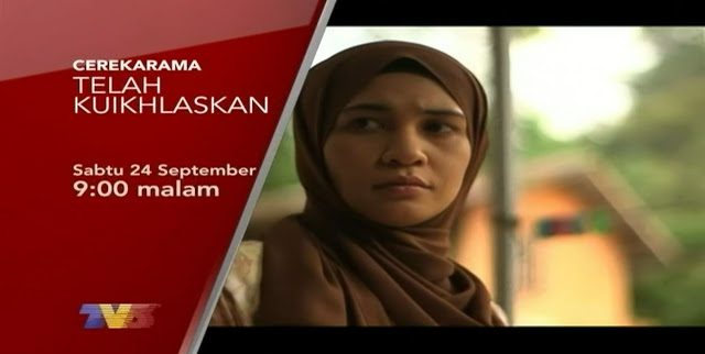 Telemovie Telah Ku Ikhlaskan - Cerekarama TV3