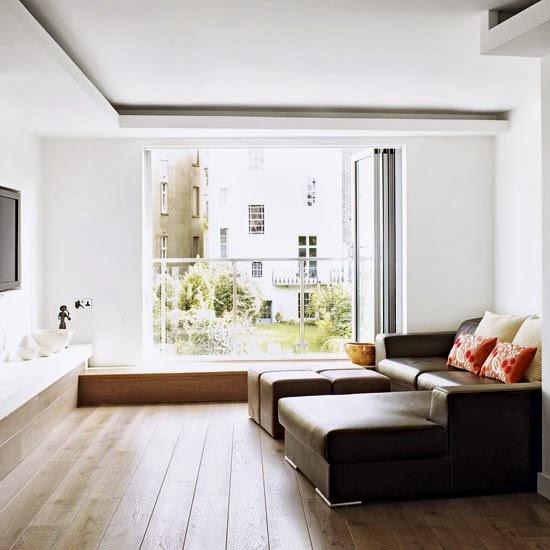 gambar desain ruang keluarga