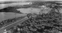 El lago Peigneur, desapareciendo