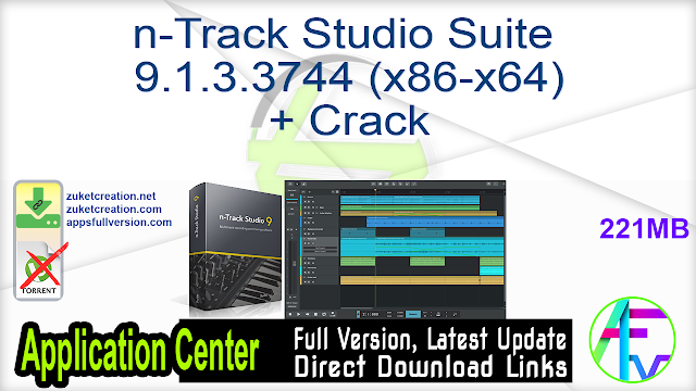 n-Track Studio Suite 9.1.3.3744 (x86-x64) + Crack