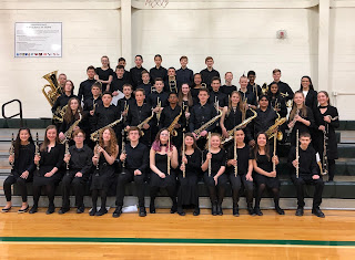 Prior year Symphony Band at MICCA