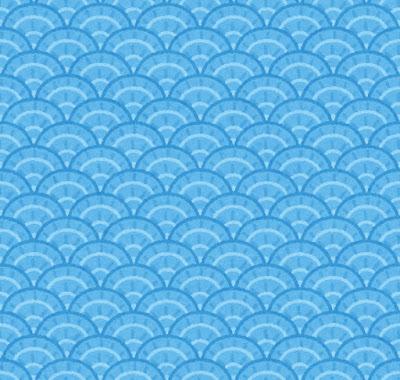 うろこのパターン