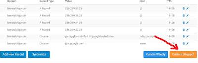 Cara Mengubah Domain Blogspot menjadi domain Com