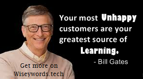 Bill gates quote, thoughts