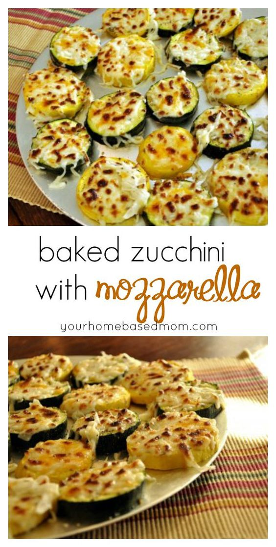 Baked Zucchini with Mozzarella #recipes #vegetable #vegetablerecipes #food #foodporn #healthy #yummy #instafood #foodie #delicious #dinner #breakfast #dessert #lunch #vegan #cake #eatclean #homemade #diet #healthyfood #cleaneating #foodstagram
