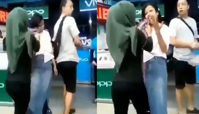 Konflik Antara SPG Oppo VS Vivo Berjalan Sengit Sampai Viral Disosial Media