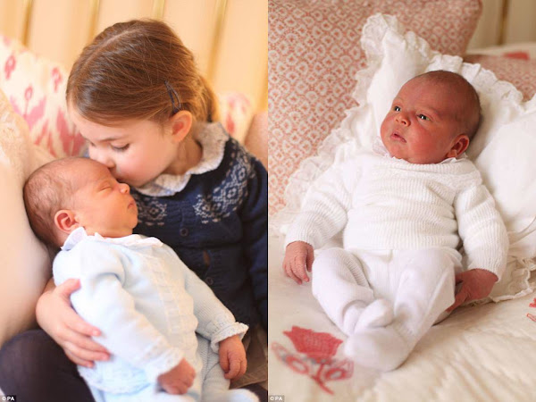Oficjalne zdjęcia księcia Louisa + więcej.