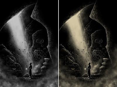 San Diego Comic-Con 2021 Exclusive Batman Begins Screen Print by Bruce Yan x Bottleneck Gallery