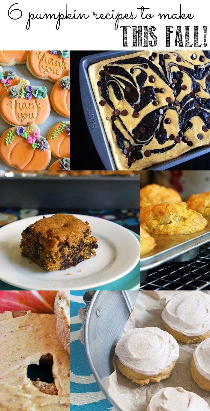 6 pumpkin recipes to try this fall