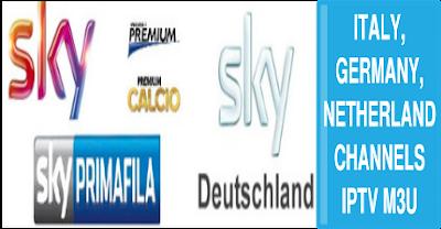 Sky germany Italy RAI premium NL ziggo kodi smart tv