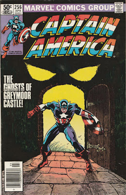 Captain America #256, the Ghosts of Greymoor Castle