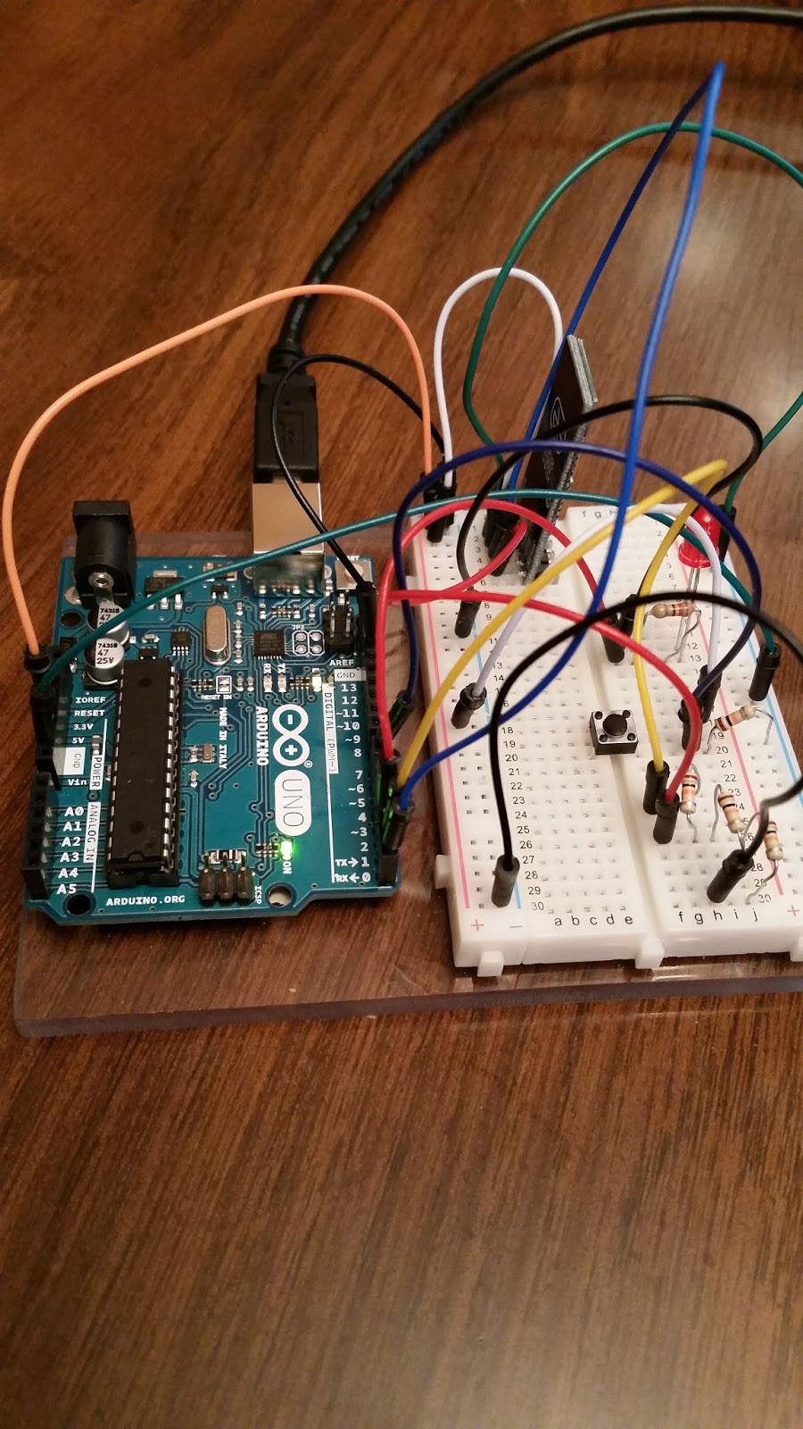 3 Way Switch Arduino Ai2 With Pt 2 Two Communication Hpms Robotics The Sketch Requires Only A Few Additions Too I Added Pair Of Variables To Track When State Changes And One For Digital Read Pin