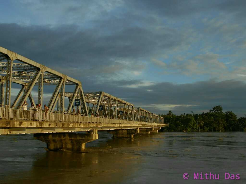 The Dhansiri Bridge 2 No., Halmira, Golaghat